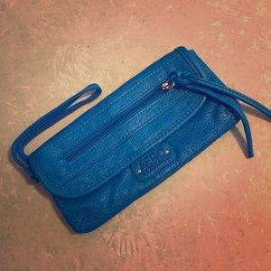 Handbags - Blue Aeropostale Clutch